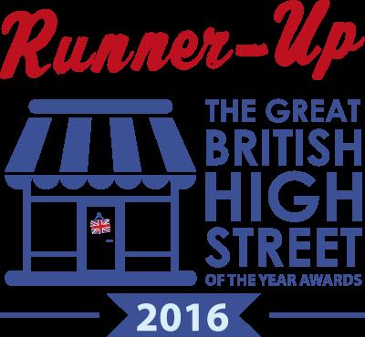 Runner Up Great British High Street Awards 2016