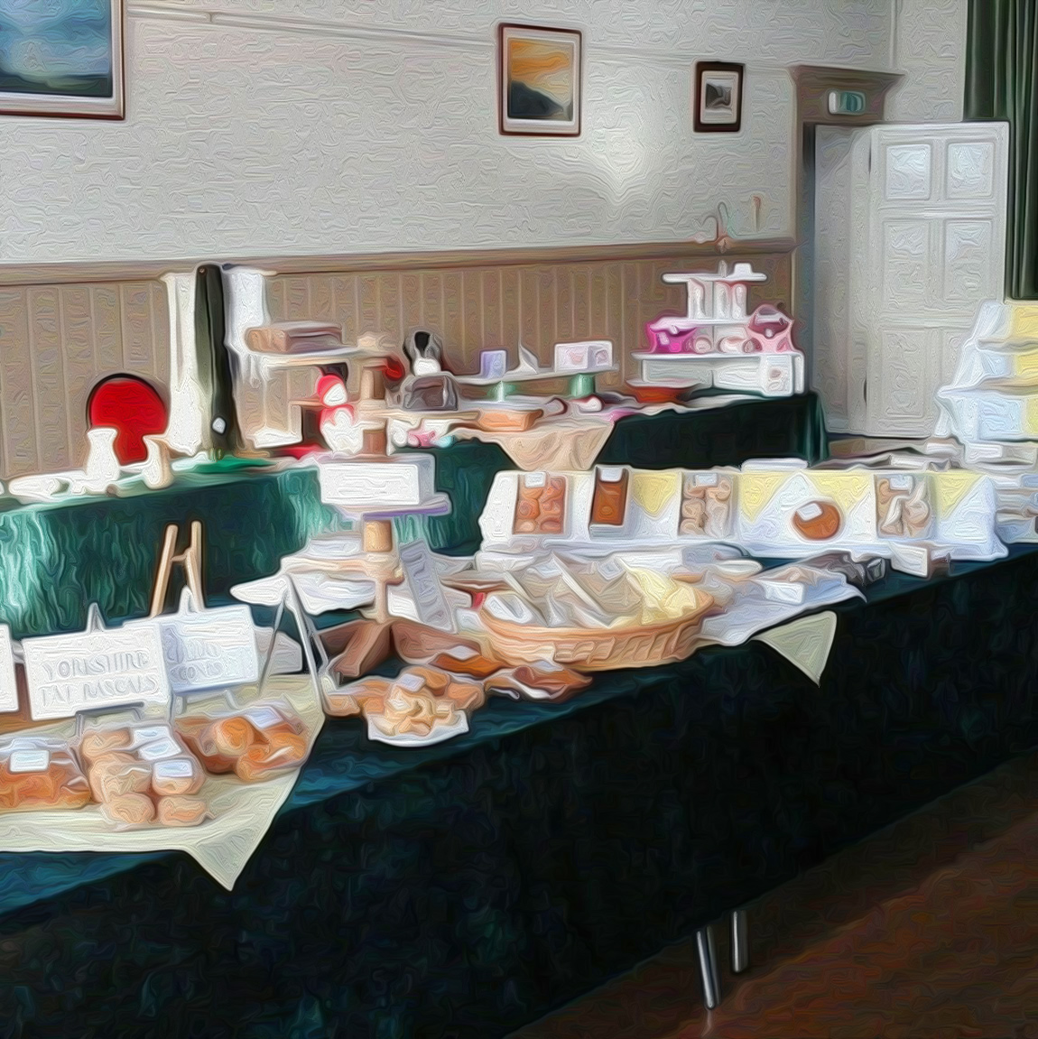 Kirkby Lonsdale Country Markets in The Lunesdale Hall
